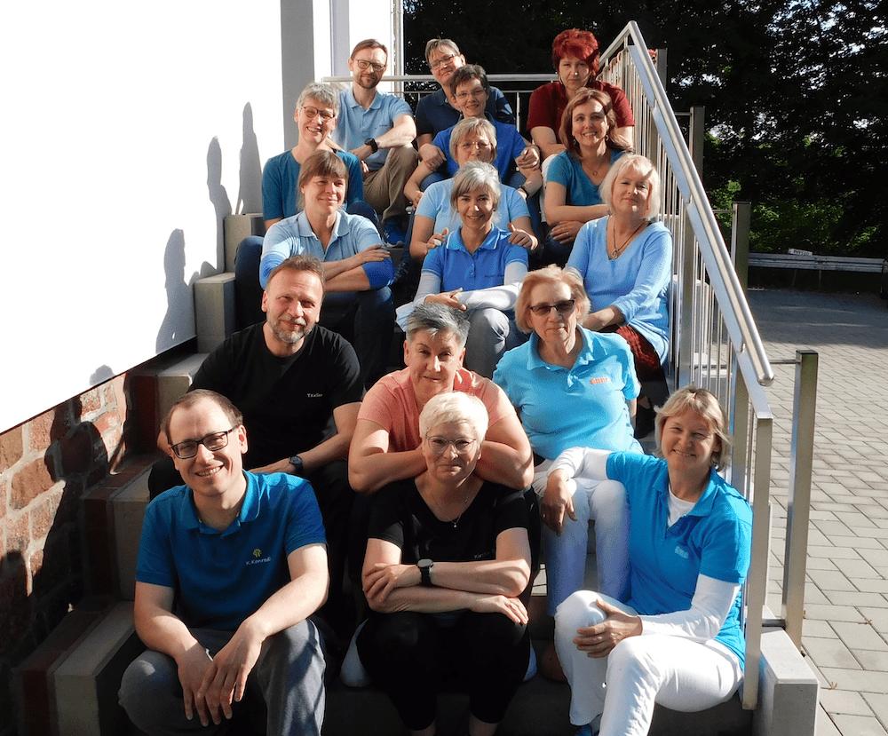 Team der Physiotherapie Liebisch 2021